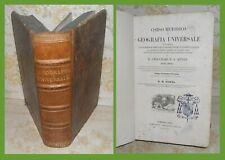 VIAGGI – TRATTATO OMNIA FIGURATO DI GEOGRAFIA UNIVERSALE – TORINO 1844