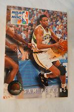 NBA CARD - Sky Box - NBA on NBC Series - Sam Perkins - Supersonics vs Rockets.