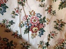 Vintage Linen Union Sanderson Chintz Curtains