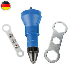 Blindnietaufsatz Nietmutternaufsatz Blindnietvorsatz für Akkuschrauber M6-8-10