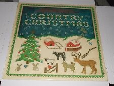 """COUNTRY CHRISTMAS - Various Artists """"Sealed LP"""" Epic JE 36823 OG '80 Holiday"""