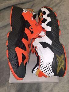 New With Box Deadstock Asics Tiger Gel-Mai Black/Orange/White Men's Size 10 🔥