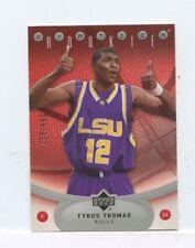 TYRUS THOMAS 2006-07 Upper Deck Ovation Rookie Card #D /999