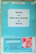 REVISTA FACULTAD MEDICINA SEVILLA -TOMO III / ENERO-FEBRERO 1971 / Nº 10 - VER