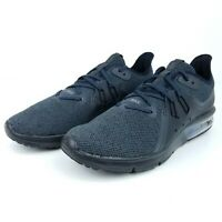 Nike Air Max Sequent 3 Mens Running Shoes Black Anthracite 921694-010 NIB Size *