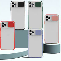 Len Slide Cover Candy Color Phone Cases For iPhone 11 Pro XS MAX XR X 7 8 6 Plus