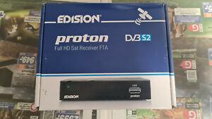 Edision proton Full HD Sat Receiver DVBS2