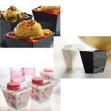 40x Premium Fingerfood Schalen Deco 200ml Hochzeit Catering Dessert Tappas Dipp