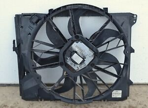 A-Premium Radiator Cooling Fan Assembly with Motor Replacement for BMW E90 E91 3 Series 128i 325i 328i 328xi 330i Z4 2006-2013 With Engine Code N52 N52N