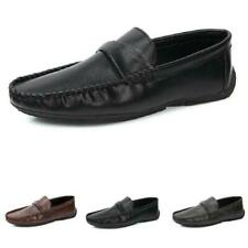 Mens Pumps Slip on Loafers Soft Comfy Breathable Flats Driving Moccasins Shoes L