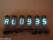 Alarm Clock VFD IV11 (Nixie era tubes) Monjibox Assembled kit