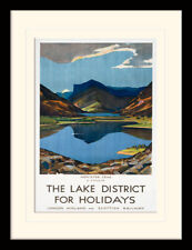 The Lake District Honister Crag Framed & Mounted Print