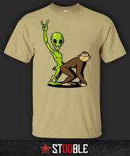 Graphic Tee Monkey Solid T-Shirts for Men