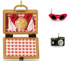 Picnic Set 2016 Hallmark Barbie Doll Limited Ornaments  Basket Sunglasses Camera