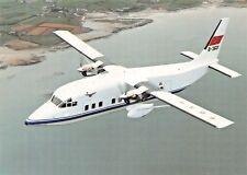 CAAC Shorts 360-100 B-3601 c/n S.H. 3667 PC-014 1910Airplane Postcard