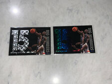 1994-95 NBA Hoops Big Numbers Rainbow And Silver SHAQUILLE O'NEAL Insert Shaq NM