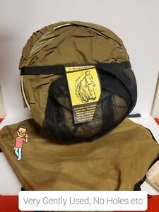 USMC Issued Catoma Pop-Up Bed Net Shelter/Tent  Coyote Brown, Prepper BugOut ☆☆☆
