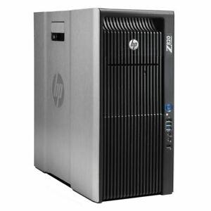 HP Z820 Workstation 2x E5-2690v2 20C @ 3GHz, 128GB RAM SSD Quadro K4000 1TB NVME