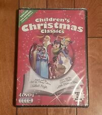 Childrens Christmas Classics(DVD, 2011, 4-Disc Set)Factory Sealed* Free Shipping