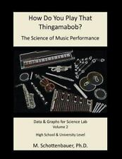 How Do You Play That Thingamabob? the Science of Music Performance: Volume 2...