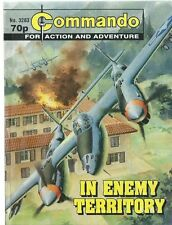IN ENEMY TERRITORY,COMMANDO FOR ACTION AND ADVENTURE,NO.3283,WAR COMIC,1999