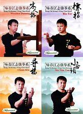 Kong Chi Keung's Wing Chun Quan Yong Chun Series by Jiang Zhiqiang 4DVDs