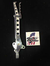"Gennie Shifter drilled hand brake 12"" lever vertical 1932 ford hotrod gasser"