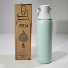 Brita 20 Ounce Premium Filtering Water Bottle with Filter - Double Wall Insulate