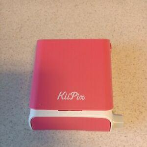 Tomy KiiPix Smartphone Instant Picture Photo Printer Pink
