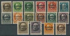 Baviera 116a - 119a, 134a, 135a con sello me 51,5 (632027)