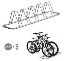 Bicycle Rack For Garage Bike Racks For Home Floor Parking Stand Storage 5 Bike