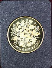 1977 Canada Queen Elizabeth II Silver Jubilee $100 Gold Proof Coin as Issued