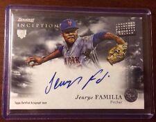 JEURYS FAMILIA 2013 BOWMAN INCEPTION Autographed Signed AUTO Baseball Card RA-JF