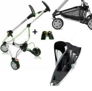 QUINNY ZAPP/ZAPP XTRA Fahrgestell für Maxi Cosi m.Adapter,Sitzeinhang+Korb
