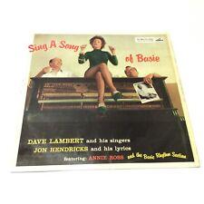 Lambert, Hendricks and Ross 'Sing A Song Of Basie' UK Vinyl LP EX-/EX- Nice