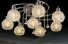 New Modern Crystal Light pendant Lamp Bedroom ceiling Lighting Chandeliers Led