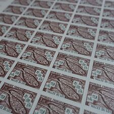 FEUILLE SHEET STAMP THE VALLEY OF THE PACK N°1807 x50 1974 NEUF LUXE MNH