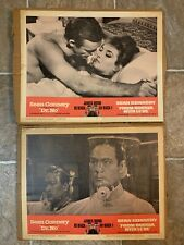 Dr. No/From Russia With Love Lobby Cards #2 & #4 James Bond 007