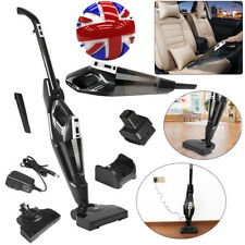 UK 120W Vacuum Cleaner 2 in 1 Cordless Upright & Handheld Bagless Stick Cleaner