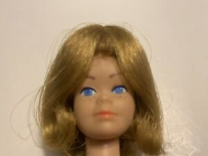 Vintage Barbie MIDGE Wig Wardrobe Doll HEAD + HTF American Girl Pageboy Wig EXC