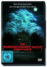 DVD  * DIE RABENSCHWARZE NACHT - FRIGHT NIGHT  # NEU OVP <