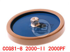 New High Frequency / Voltage Ceramic Capacitor Ccg81-8 2000Pf 21Kv 125Kva