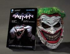 Batman, Volume 3: Death of the Family Book & Mask Set [With Joker Mask] (Mixed M