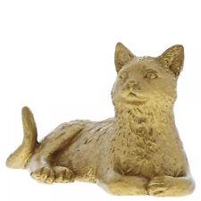 Border Fine Arts Cat Lying Down Studio Gold Collection Figure