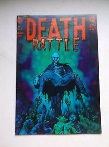 KITCHEN SINK: DEATH RATTLE (VOL. 1) #1, SUPER RARE UNDERGROUND COMIX, 1ST PRT!!
