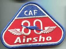 CAF 80 airsho. tissu INSIGNE. 85 x 125 MM