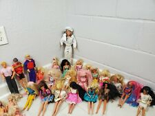 Vintage Barbie Dolls & Ken With Clothing & Accessories Lot