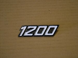 LAVERDA 1200 SIDE COVER BADGE,  NEW REPRODUCTION.