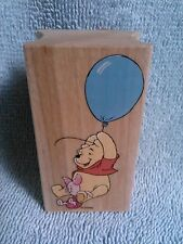 Pooh and Piglet Stamp-High Flying-New