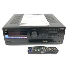 JVC RX-882V Stereo Audio/Video Control Receiver Compu Link - Bundle - Tested
